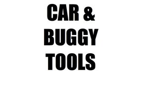 CAR & BUGGY TOOLS