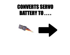 CONVERTS SERVO CONNECTION TO ...
