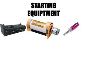 STARTING EQUIPTMENT