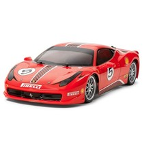 TAMIYA XB 1/10 FERRARI 458 CHALLENGE SPEC  4WD ON ROAD CAR<br />