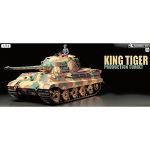 TAMIYA 1:16 RC KING TIGER GERMAN HEAVY TANK PRODUCTION TURRENT