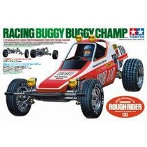TAMIYA RACING BUGGY, BUGGY CHAMP NEEDS TRANSMITTER, RECIVER, 1 SERVO, 7.2V 1600MAH BATTERY AND CHARGER