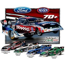 TRAXXAS 1/8 FUNNY CAR COURTNEY FORCE WITH TQI RADIO