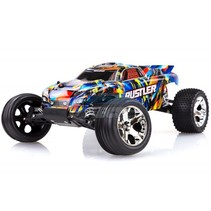 Traxxas Rustler 2WD RTR (Brushed) no batt or charger ( Just add either Nimh Or LIPO battery or charger )