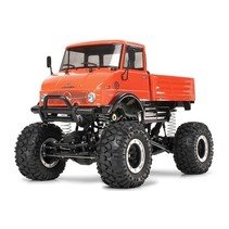 TAMIYA MERCEDES-BENZ UNIMOG 406 SERIES U900 CR-01 CHASSIS REQUIRES SERVO, RADIO, BATTERIES, CHARGER, SPEED CONTROLLER