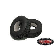 """RC4WD 2x Roady Super Wide ( ROADY SW ) SUPER SINGLE 1.7"""" Commercial 1/14 Semi Truck Tires These are Super Wide Semi Truck Tires for the Tamiya Reefer style trailers, or the front of a Semi Truck. Specification: Shown Installed on Test truck What's include"""