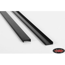 RC4WD 0083 1/14 TRACTOR TRUCK CHASSIS RAILS UNDRILLED BLACK ( 1 PAIR ) <br /><br />SUITS TAMIYA TRACTOR TRUCKS