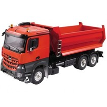 HERCULES  1/14 Heavy Duty Tri-Axle Dumper Tipper Semi Trailer Truck (Plastic + Aluminum) SOLD AS KIT
