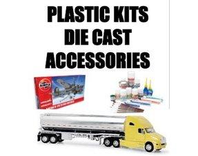 PLASTIC KITS-DIECAST-ACC