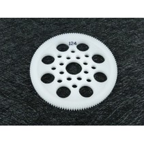 3 RACING 64 PITCH SPUR GEAR 124T