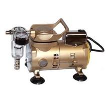 SPARMAX AIR COMPRESSOR  AC-100 HIGH PRESSURE<br /> MOTOR 1/8 HP AC<br /> AIRFLOW 12-16 lpm<br /> Weight 3.4kg <br /> <br /> Includes :<br /> Water Trap <br /> Pressure Guage <br /> Adjustable Pressure