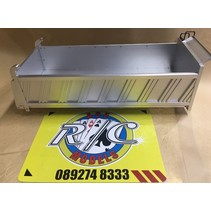 HERCULES HOBBY TIPPER BODY METAL 400MM TO SUIT 1/14 TRACTOR TRUCKS<br /> REQUIRES RAILS, REAR HINGE ETC (FOR COMPLETE KIT USE PART NUMBER HH 140426B)