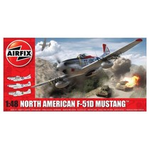 AIRFIX NORTH AMERICAN F-51D MUSTANG™ 1:48  A05136