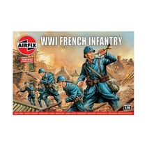 AIRFIX VINTAGE CLASSICS WWI FRENCH INFANTRY 1/76 A00728V