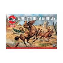 AIRFIX VINTAGE CLASSICS WWI ROYAL HORSE ARTILLERY 1/76 A00731V