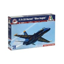 ITALERI F/A-18 HORNET BLUE ANGELS 1/72  1324