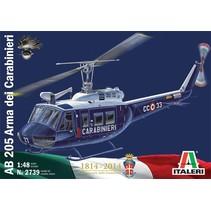 ITALERI AB 205 ARMA DEI CARABINIERI 1/48. 2739