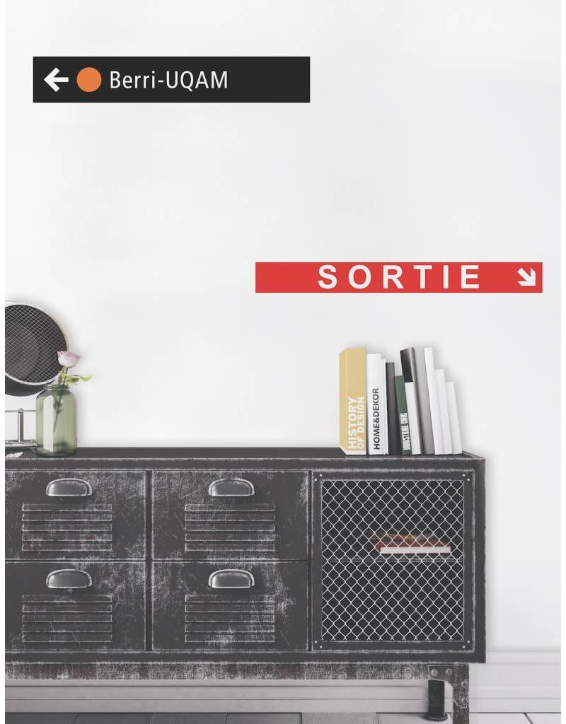 SIGNAGE - Berri-UQAM