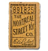 CADRE EN ACRYLIQUE - The Montreal Street RY CO. - 891825
