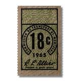 ACRYLIC FRAME - Ticket 18c year 1965