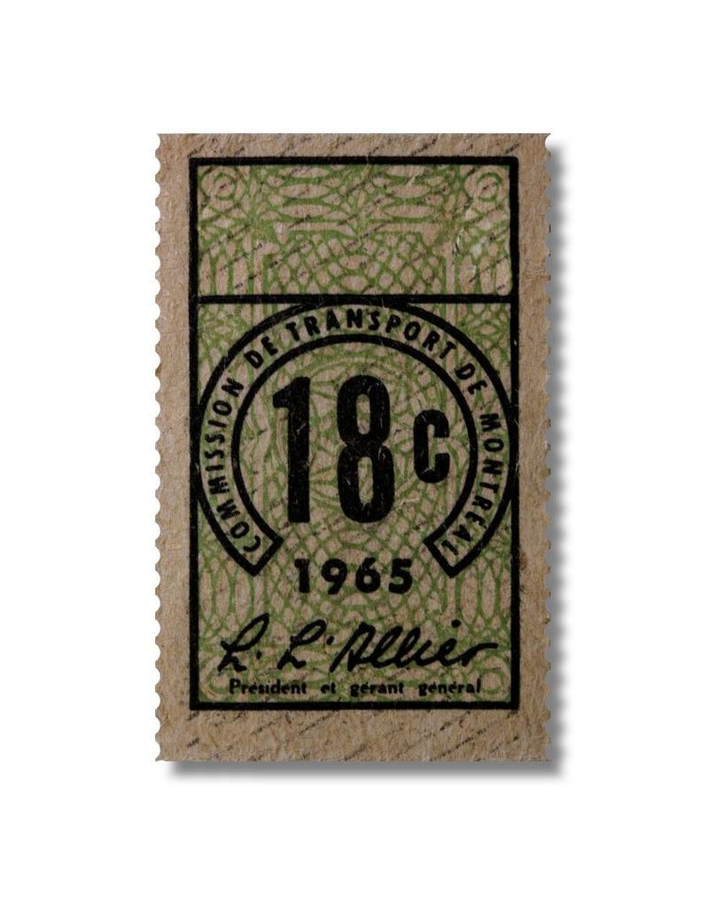 CARDRE EN ACRYLIQUE - Billet 18c-1965