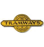 ACRYLIC FRAME - Logo - LA COMPAGNIE DES TRAMWAYS DE MONTRÉAL