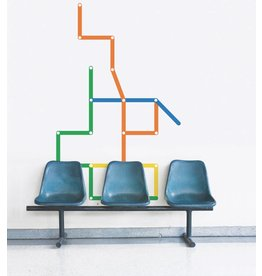 WALL DECALS - Creative lines