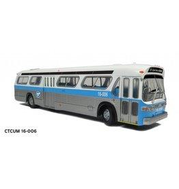 """MODÈLE ÉCHELLE 1/87 - Autobus """"New Look"""" C.T.C.U.M.  Édition Deluxe #16-006"""