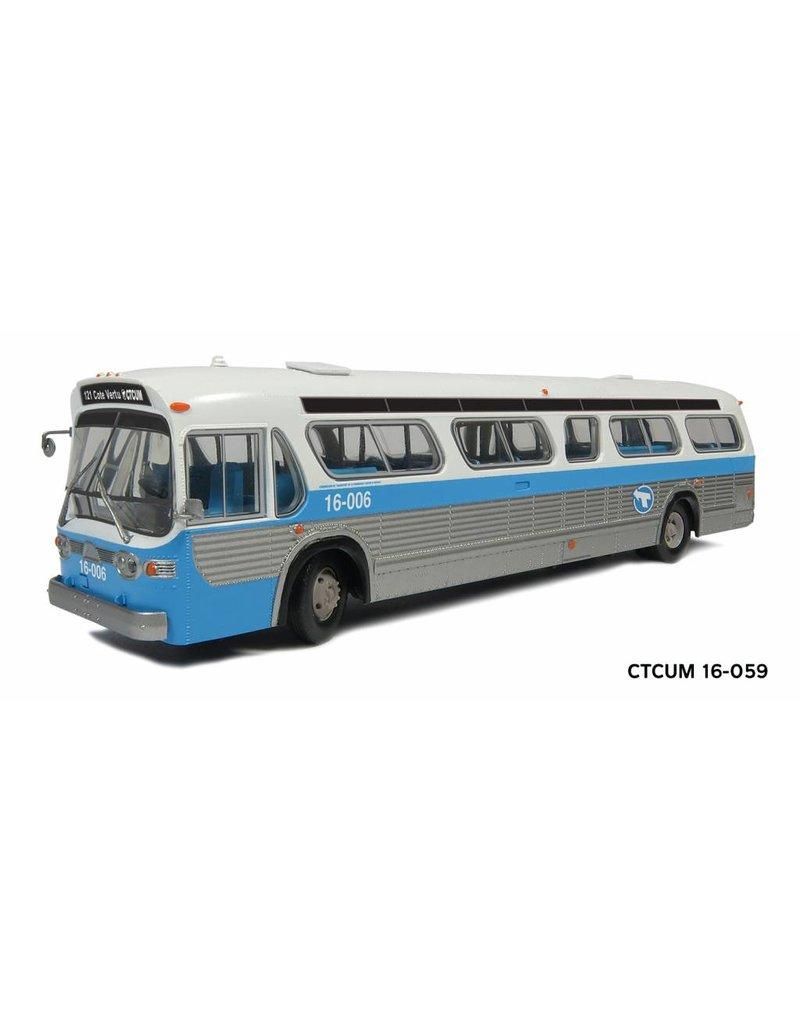 """MODÈLE ÉCHELLE 1/87 - Autobus """"New Look"""" C.T.C.U.M.  Édition Deluxe - #16-059"""