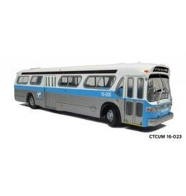 """MODÈLE ÉCHELLE 1/87 - Autobus """"New Look"""" C.T.C.U.M.  Édition Standard - #16-023"""