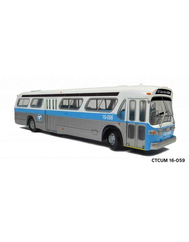 """MODÈLE ÉCHELLE 1/87 - Autobus """"New Look"""" C.T.C.U.M.  Édition Standard #16-059"""
