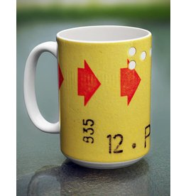 CUP- YELLOW TRANSFER CORRESPONDENCE TICKET