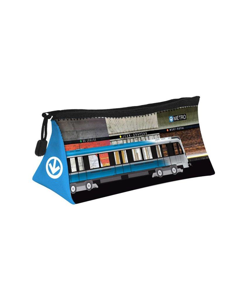 ÉTUI DE RANGEMENT - Stations de métro - Azur