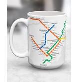 TASSE - Plan du métro