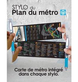 BANNER PEN - Montreal Metro map