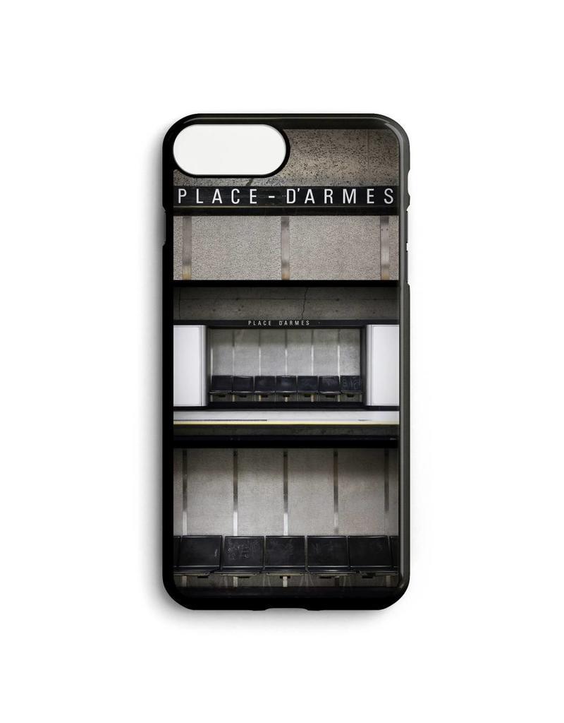Phone case - Station Place-D'Armes