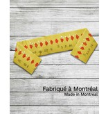 Scarf- Yellow transfer ticket