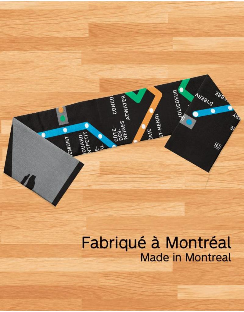 Scarf - Metro map
