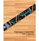 Foulard - Plan du métro