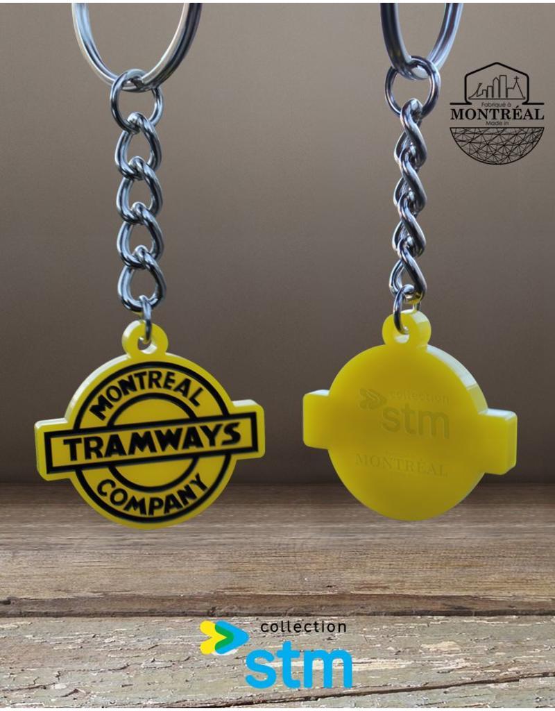 Keychain - Montreal Tramways Company