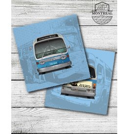 Lens cloth - New Look blue bus