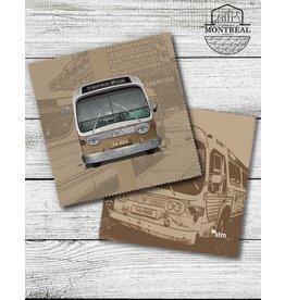Lingette de lunettes - Autobus New Look brun