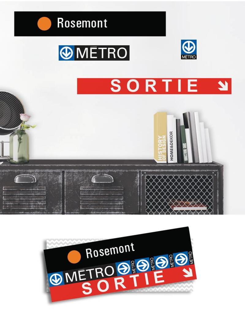 ADHÉSIF SIGNALÉTIQUE - Rosemont