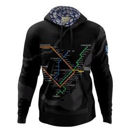 Hoodie - Plan du métro