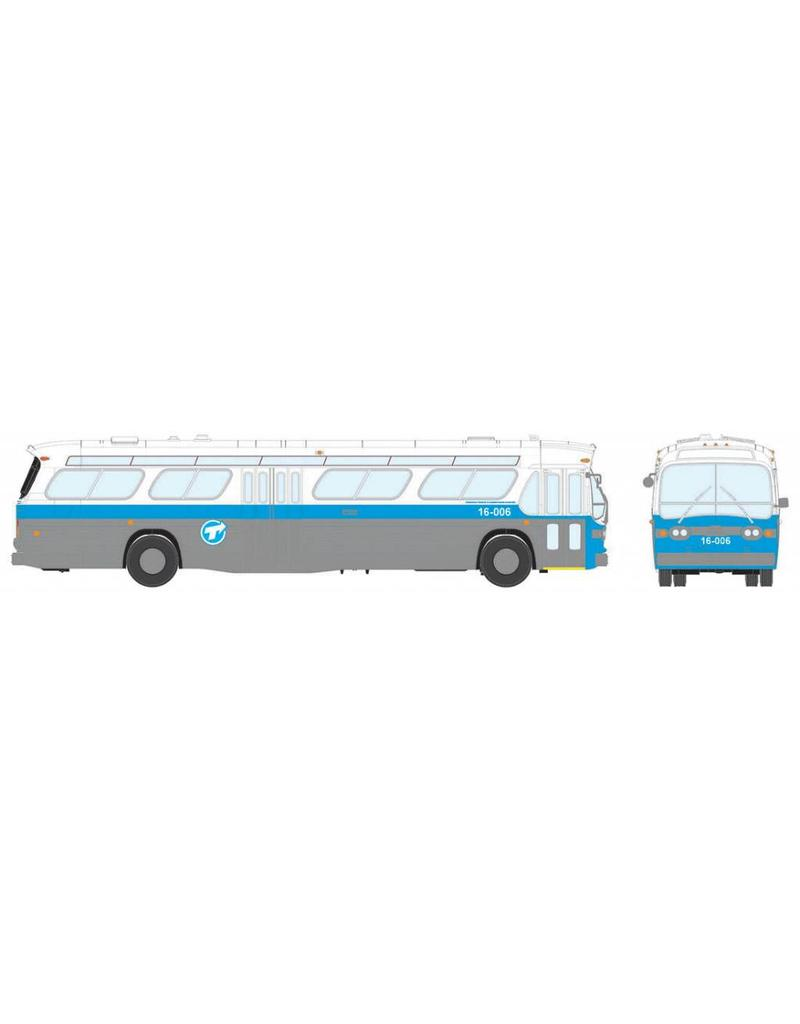 MODÈLE ÉCHELLE 1/87 - Autobus New Look bleu C.T.C.U.M.  Édition Standard #18-077