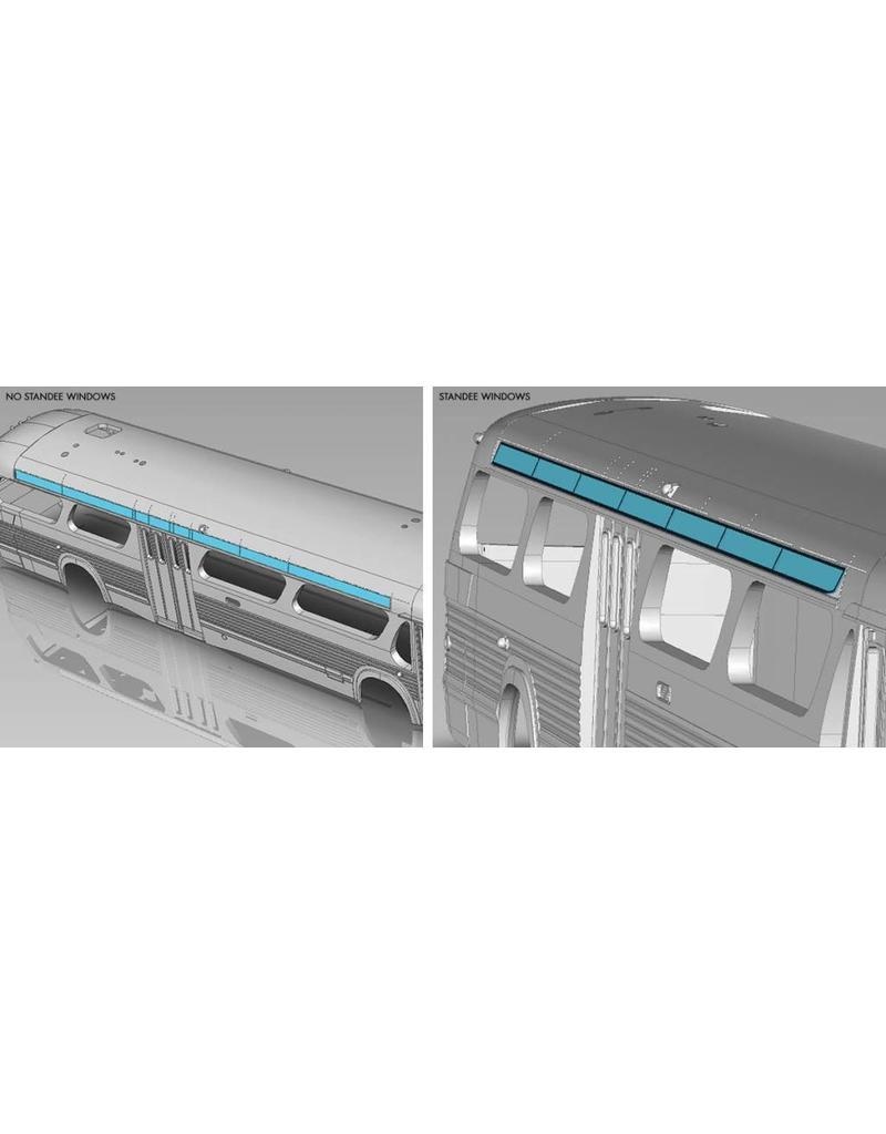 MODÈLE ÉCHELLE 1/87 - Autobus New Look brun C.T.C.U.M.  Édition Standard #15-018