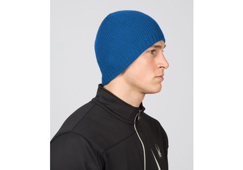 SPYDER SPYDER MENS BUG BUTTON HAT - CONCEPT BLUE 479 (15/16)