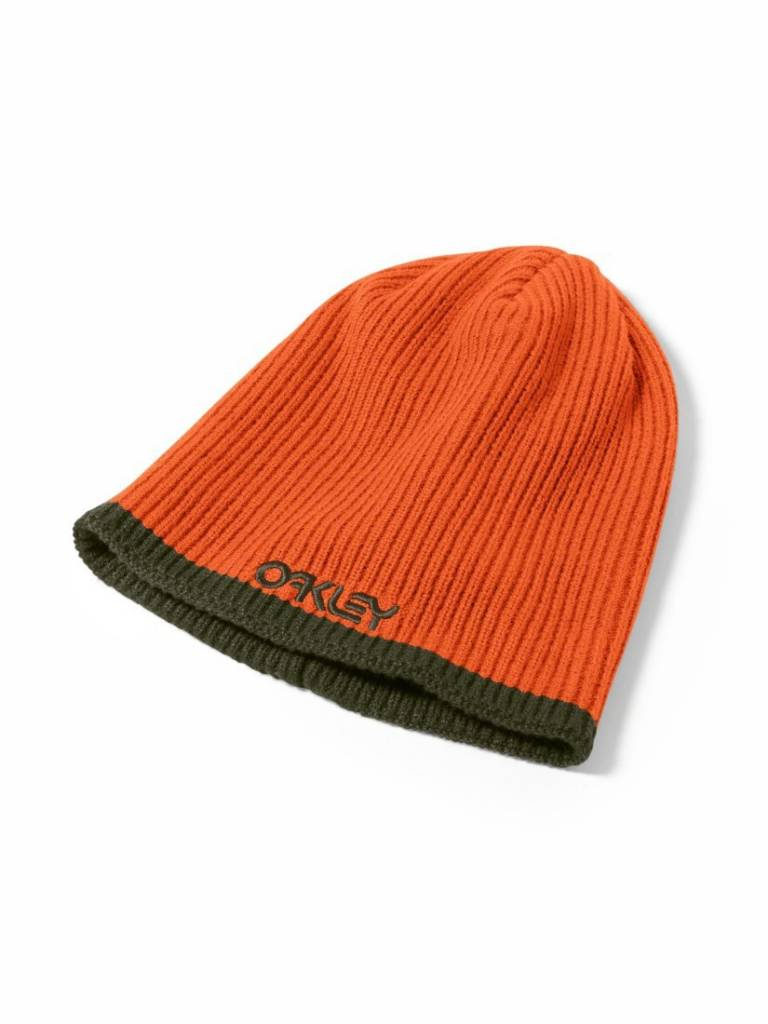 OAKLEY OAKLEY FACTORY FLIP BEANIE - Flare Orange-733 (15/16)