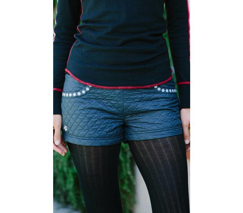 Alp-N-Rock Ladies Themountain :Shorts -Heather Black (15/16)