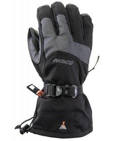 Gordini The Two Step Glove Mens  -1053 Black-Dark Grey  (15/16)